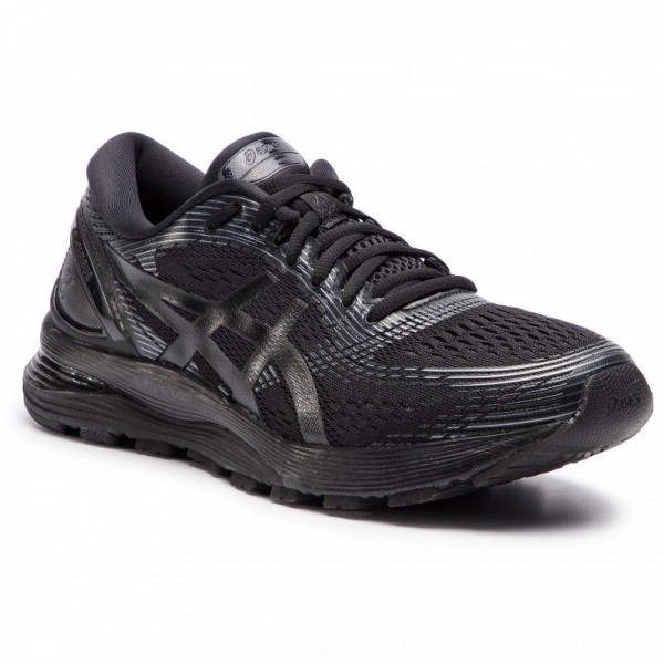 Asics Schuhe Gel-Nimbus 21 1011A169 Black/Black 004