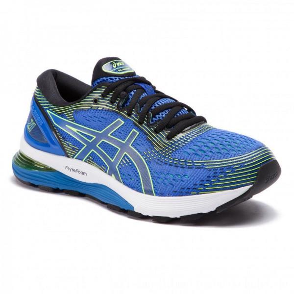 Asics Schuhe Gel-Nimbus 21 1011A169 Illusion Blue/Black 400 [Sale]