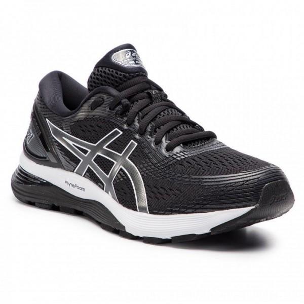 Asics Schuhe Gel-Nimbus 21 1011A172 Black/Dark Grey 001