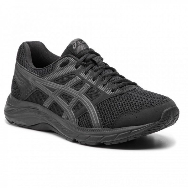 Asics Schuhe Gel-Contend 5 1011A256 Black/Dark Grey 002 [Outlet]