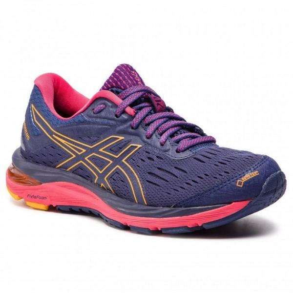 Asics Schuhe Gel-Cumulus 20 G-Tx GORE-TEX 1012A007 Indigo Blue/Amber 400 [Sale]