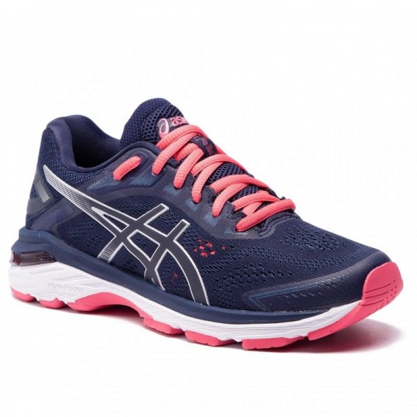 Asics Schuhe Gt-2000 7 1012A147 Peacoat/Silver 401 [Outlet]