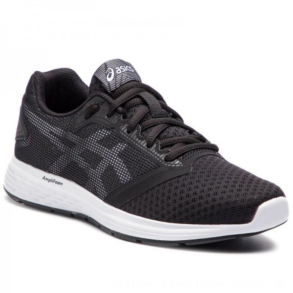 Asics Schuhe Patriot 10 GS 1014A025 Black/White 004 [Sale]