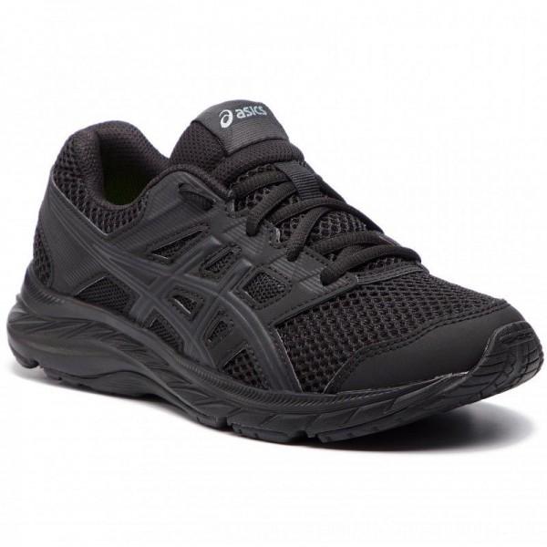 Asics Schuhe Contend 5 Gs 1014A049 Black/Black 020 [Sale]