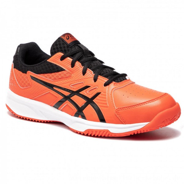 Asics Schuhe Court Slide Clay 1041A036 Cherry Tomato/Black 808 [Outlet]
