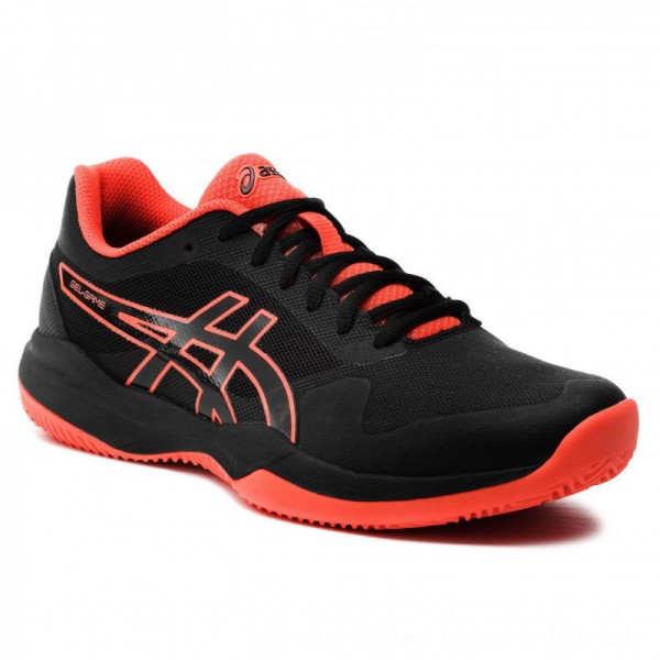 Asics Schuhe Gel-Game 7 Clay/Oc 1041A046 Black/Cherry Tomato 010 [Outlet]