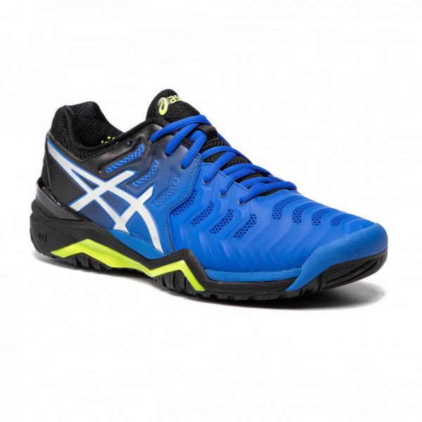 Asics Schuhe Gel-Resolution 7 E701Y Illusion Blue/Silver 407 [Outlet]