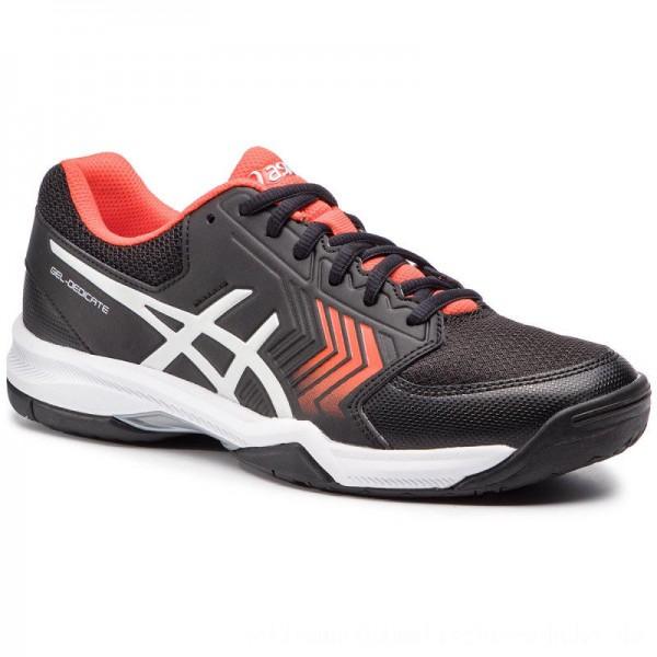 Asics Schuhe Gel-Decicate 5 E707Y Black/Silver 007 [Sale]
