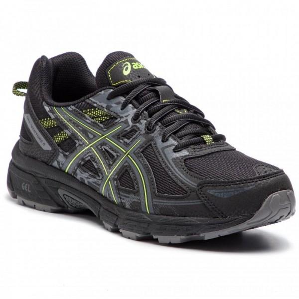 Asics Schuhe Gel-Venture 6 T7G1N Black/Neon Lime 001