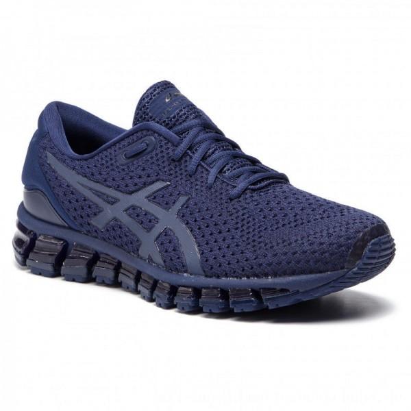 Asics Schuhe Gel-Quantum 360 Knit 2 T840N Indigo Blue/Indigo Blue 402 [Sale]
