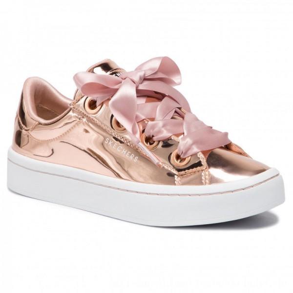 Skechers Sneakers Liquid Bling 958/RSGD Rose Gold [Outlet]