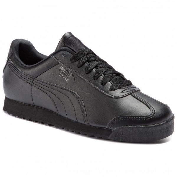 Puma Sneakers Roma Basic 353572 17 Black/Black [Sale]