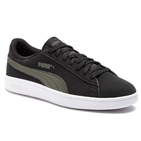 Puma Sneakers Smash V2 Buck 365160 05 Black/Puma Black [Outlet]