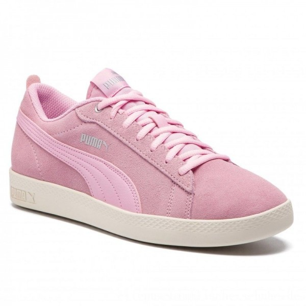 Puma Sneakers Smash Wns V2 Sd 365313 15 Pale Pink/Silver/W White [Outlet]