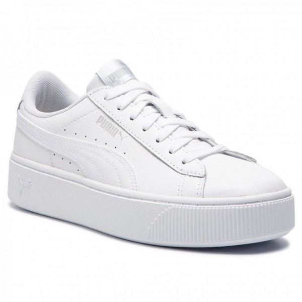 Puma Sneakers Vikky Stacked L 369143 02 White/Puma White [Outlet]