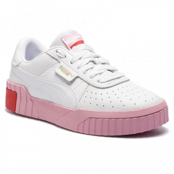 Puma Sneakers Cali Wn's 369155 02 White/Pele Pink [Outlet]