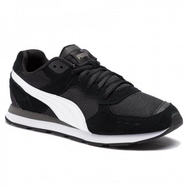 Puma Sneakers Vista 369365 01 Black/White/Charcoal Gray [Sale]