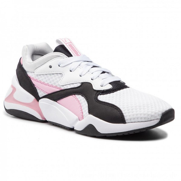 Puma Sneakers Nova 90's Bloc Wn's 369486 03 White/Pale Pink [Outlet]