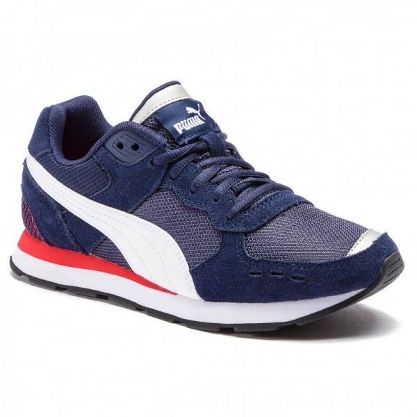 Puma Sneakers Vista Jr 369539 02 Peacoat/Puma White [Outlet]