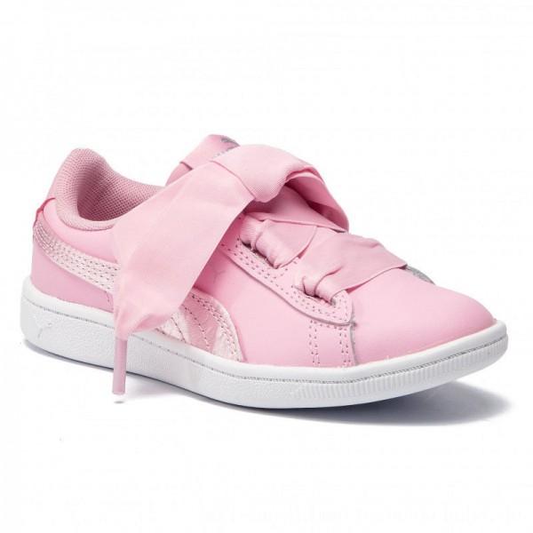 Puma Sneakers Vikky Ribbon L Satin Ps 369543 03 Pale Pink/Pale Pink [Outlet]