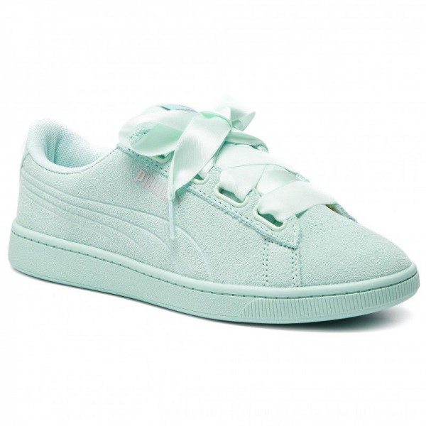 [BLACK FRIDAY] Puma Sneakers Vikky V2 Ribbon S 369726 06 Fair Aqua/Fair Aqua/Silver