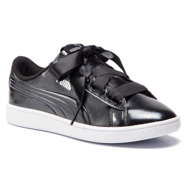 Puma Sneakers Vikky V2 Ribbon P 369727 01 Black/Puma Silver [Sale]