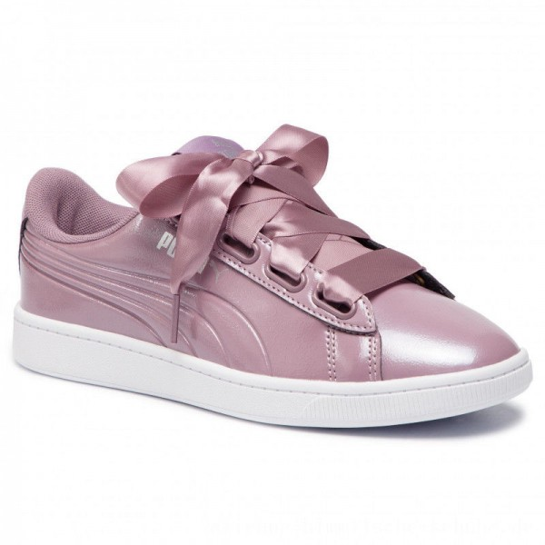 Puma Sneakers Vikky v2 Ribbon P 369727 03 Elderberry/Puma Silver [Outlet]