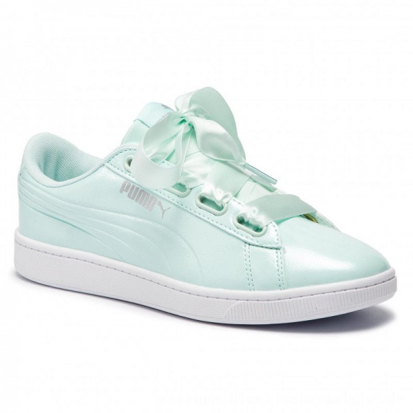Puma Sneakers Vikky v2 Ribbon P 369727 04 Fair Aqua/Puma Silver [Sale]