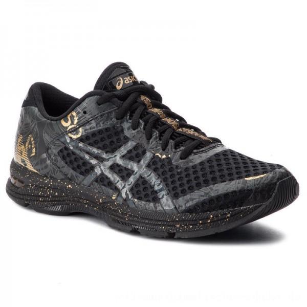 Asics Schuhe Gel-Noosa Tri 11 1011A631 Black/Rich Gold 001 [Outlet]