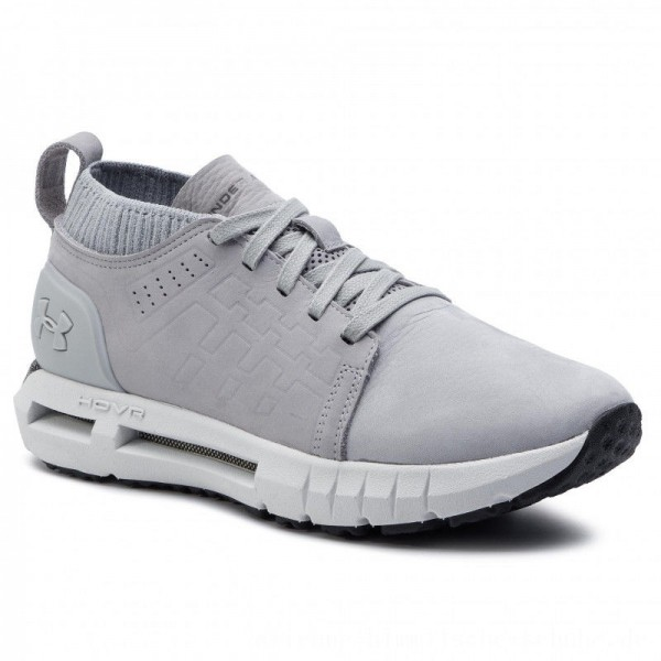 Under Armour Schuhe Ua Hovr Lace Up Md Prm 3020881-103 Gry [Outlet]