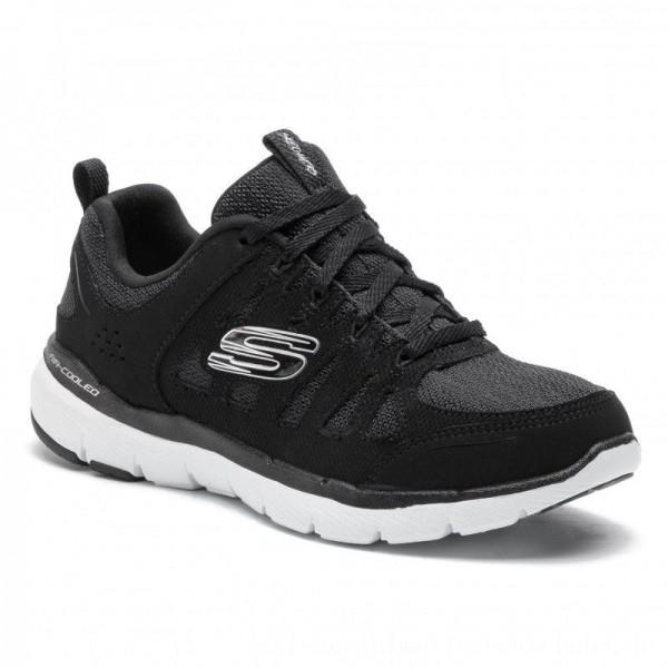 Skechers Schuhe Billow 13061/BKW Black/White [Outlet]