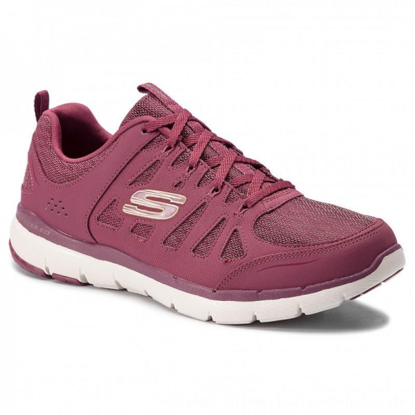 Skechers Schuhe Billow 13061/BURG Burgundy [Outlet]