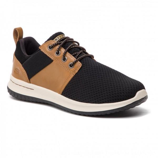 [BLACK FRIDAY] Skechers Halbschuhe Brant 65642/BRBK Brown/Black