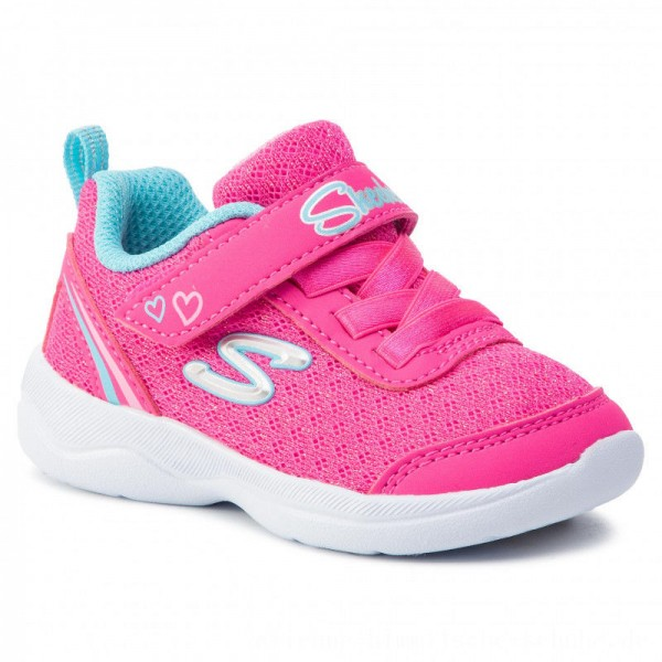 Skechers Schuhe Sparkle Trainer 82120N/HPTQ Hot Pink/Turquoise