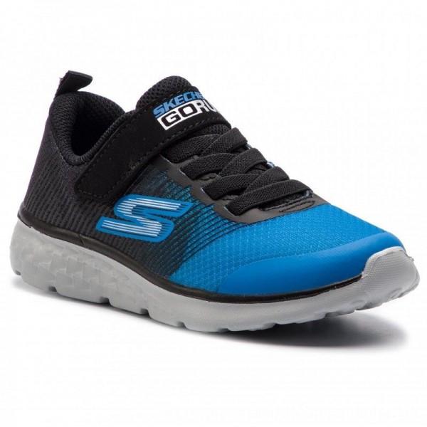 Skechers Schuhe Kroto 97685L/BKRY Black/Royal [Outlet]