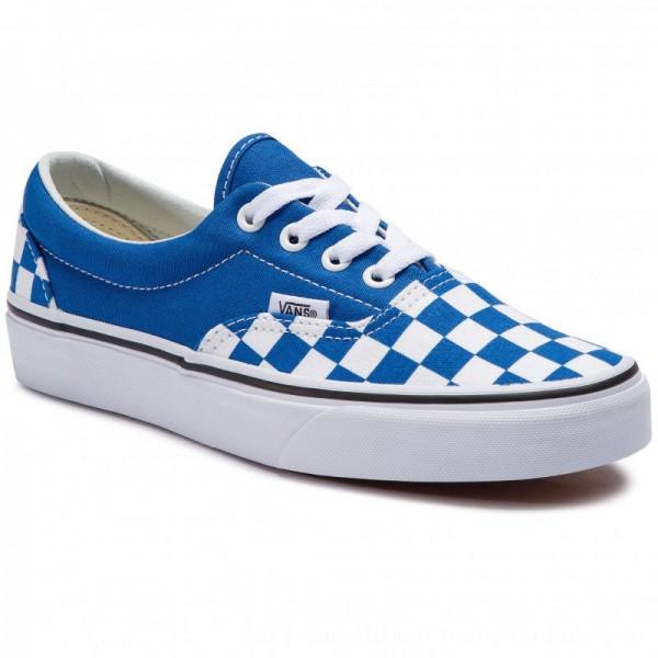 Vans Turnschuhe Era VN0A38FRVOU1 (Checkerboard) Lapis Blue [Outlet]