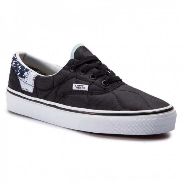 Vans Turnschuhe Era VN0A38FRVP61 (Mixed Quilting) Black/Tr [Outlet]
