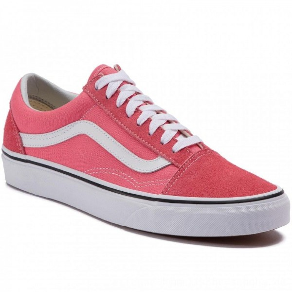 Vans Turnschuhe Old Skool VN0A38G1GY71 Strawberry Pink/Truewhite [Outlet]