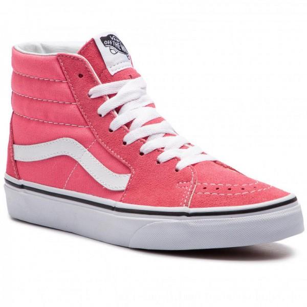 Vans Sneakers Sk8-Hi VN0A38GEGY71 Strawberry Pink/Truewhite [Sale]