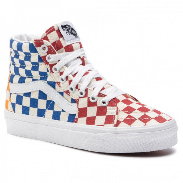 Vans Sneakers Sk8-Hi VN0A38GEVLV1 (Checkerboard) Multi/True [Outlet]