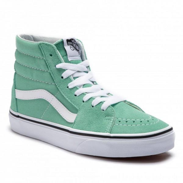 Vans Sneakers Sk8-Hi VN0A38GEVMX1 Neptune Green/True White [Outlet]