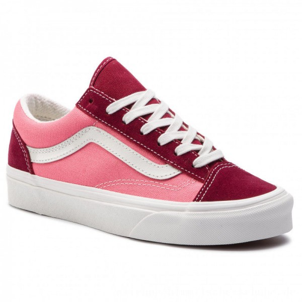 Vans Turnschuhe Style 36 VN0A3DZ3VTC1 (Vintage Sport) Rumba Red [Outlet]