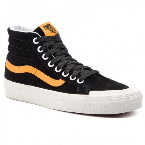 Vans Sneakers Sk8-Hi Reissue 13 VN0A3TKPB0Y1 Black/Zinnia [Sale]