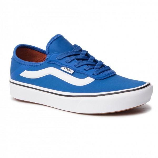 Vans Turnschuhe Comfycush Zushi VN0A3WM6VJI1 Lapis Blue/True White [Outlet]