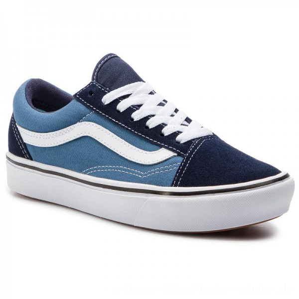 Vans Turnschuhe Comfycush Old Sko VN0A3WMAVNT1 (Classic) Navy/Stv Navy [Outlet]