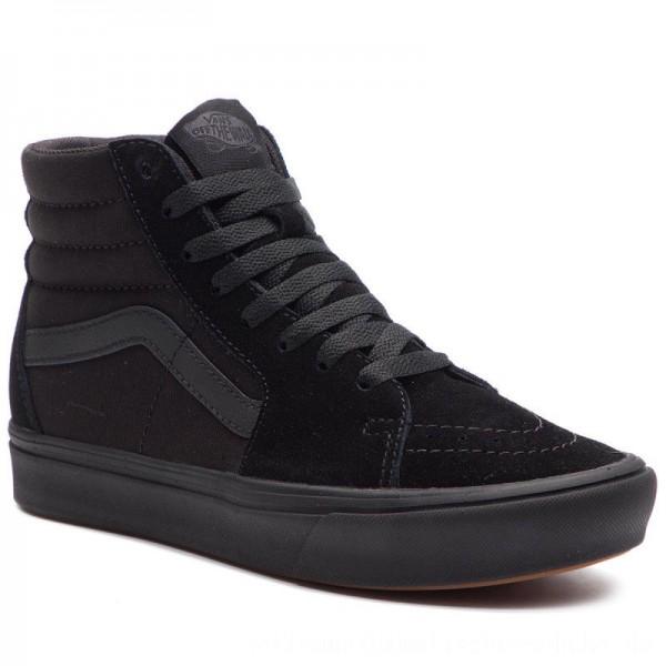 Vans Sneakers Comfycush Sk8-Hi VN0A3WMBVND1 (Classic) Black/Black [Outlet]