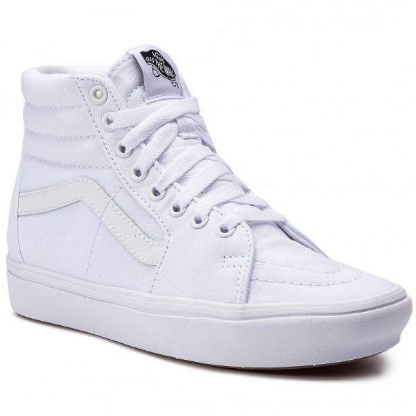 Vans Sneakers Comfycush Sk8-Hi VN0A3WMBVNG1 (Classic) True White/True [Outlet]