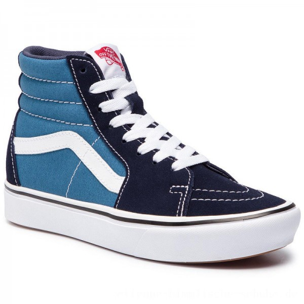 Vans Sneakers Comfycush Sk8-Hi VN0A3WMBVNT1 (Classic) Navy/Stv Navy [Outlet]