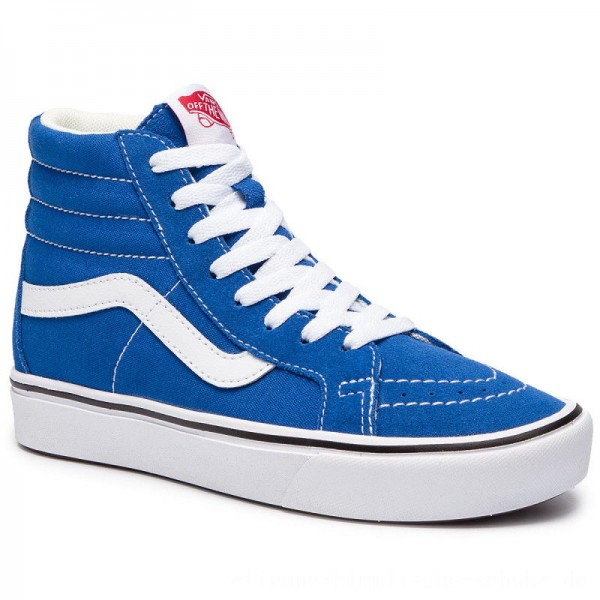 Vans Sneakers Comfycush Sk8-H VN0A3WMCVO11 (Suede/Canvas) Lapis Blue [Outlet]