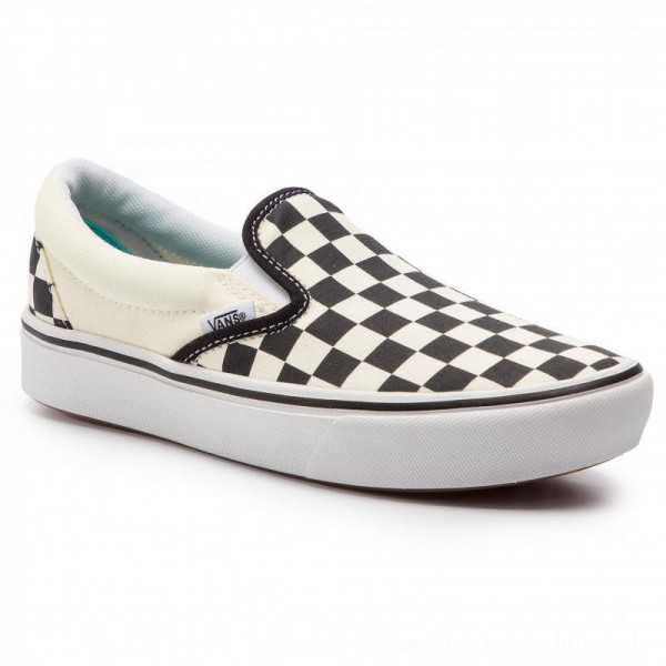Vans Turnschuhe Comfycush Slip-On VN0A3WMDVO41 (Classic) Checkerboard/Tr [Outlet]